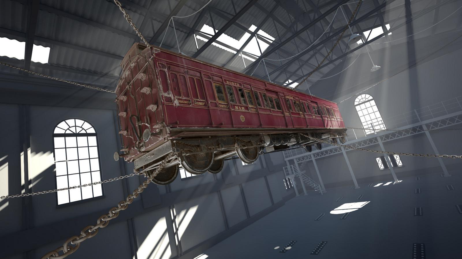 Thorpe Park Derren Brown Ghost Train